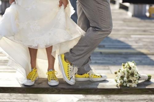Свадьба в кедах - почему бы и нет?